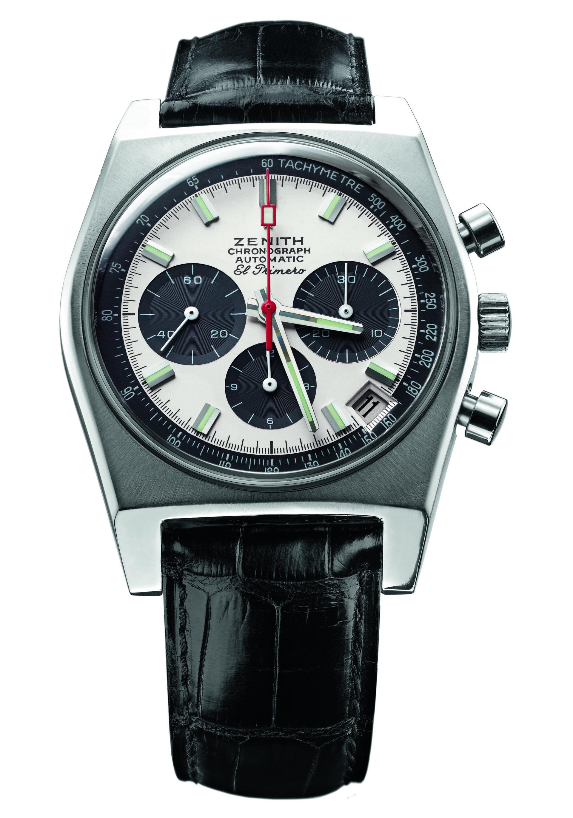 Kompakt, superschnell und präzise - das El Primero Werk des ersten Chronographen war 1969 eine Sensation