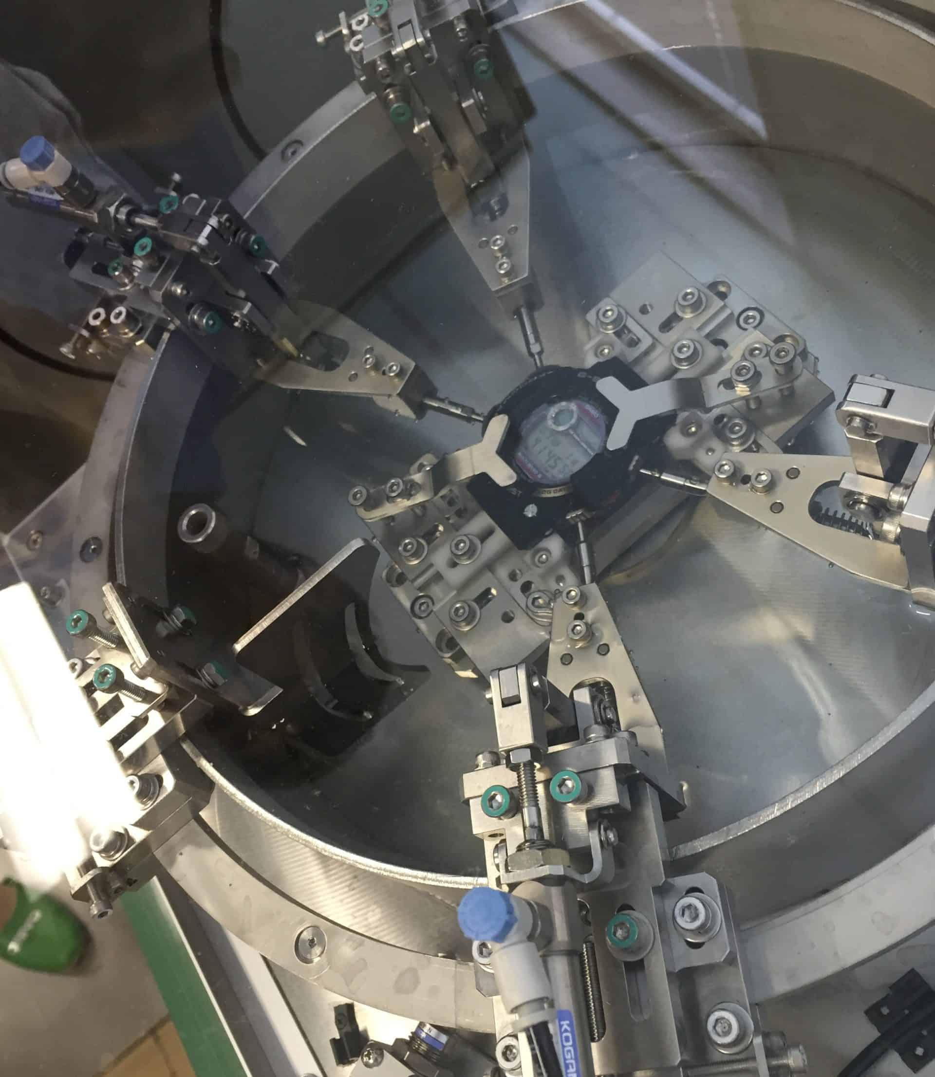 Der Dauertest der G-Shock Drücker unter Wasser