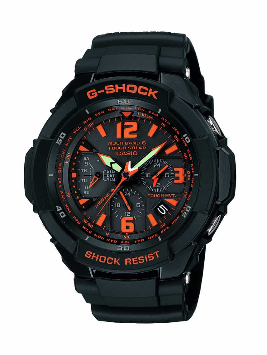 Markante G-Shock GW-3000-1A JF DR im Military-Look