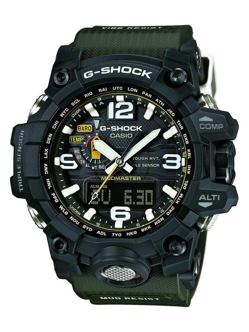 G-Shock GWG-1000-1A3ER mit breiten Zeigern