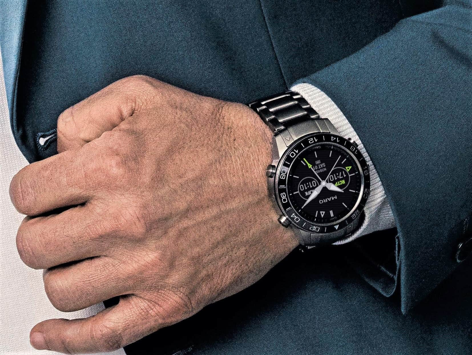 Die neue Garmin Marq Smartwatch Aviator