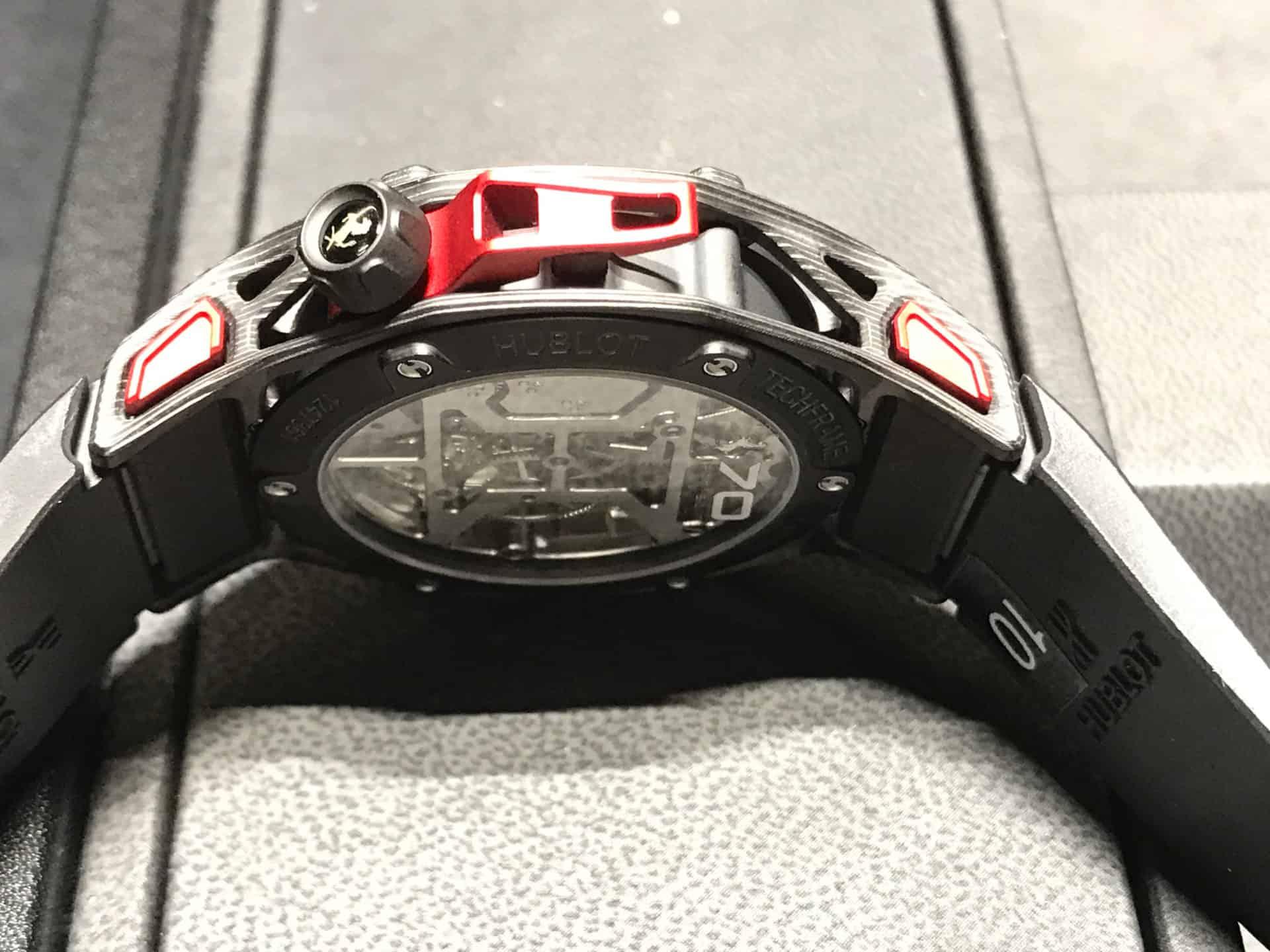 Hublot . Techframe Ferrari 70 years Tourbillon Chronograph - 2017_2