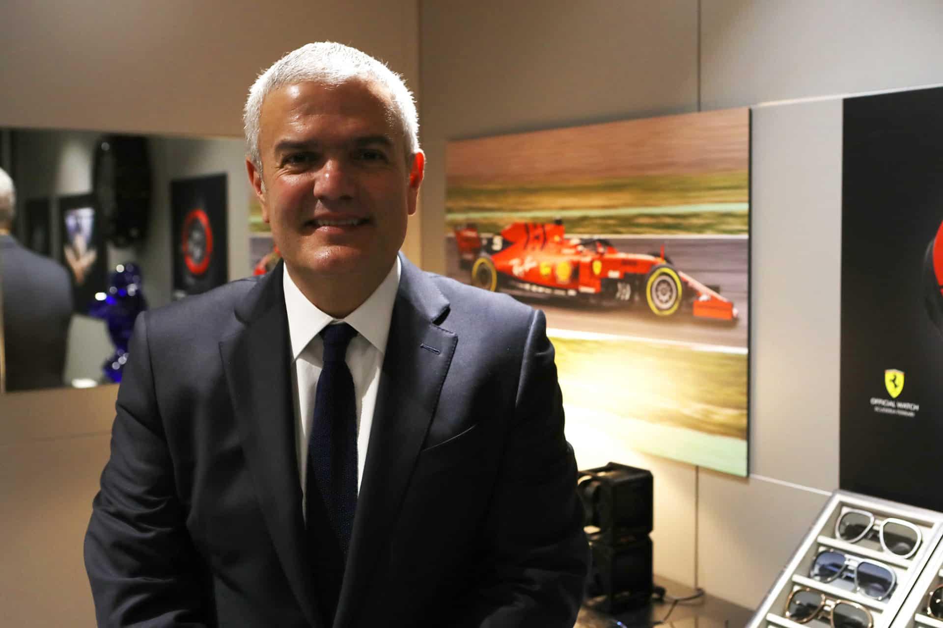 Der CEO der großen Uhrenbrand Hublot Ricardo Guadalupe