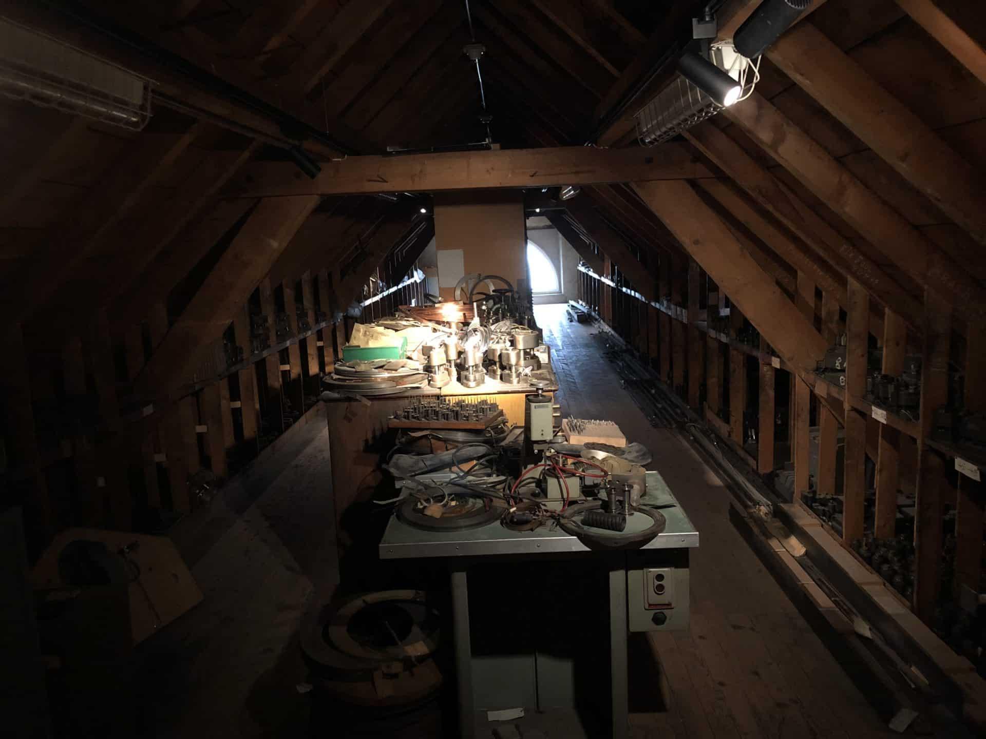 Zenith Dachboden Versteck El Primero