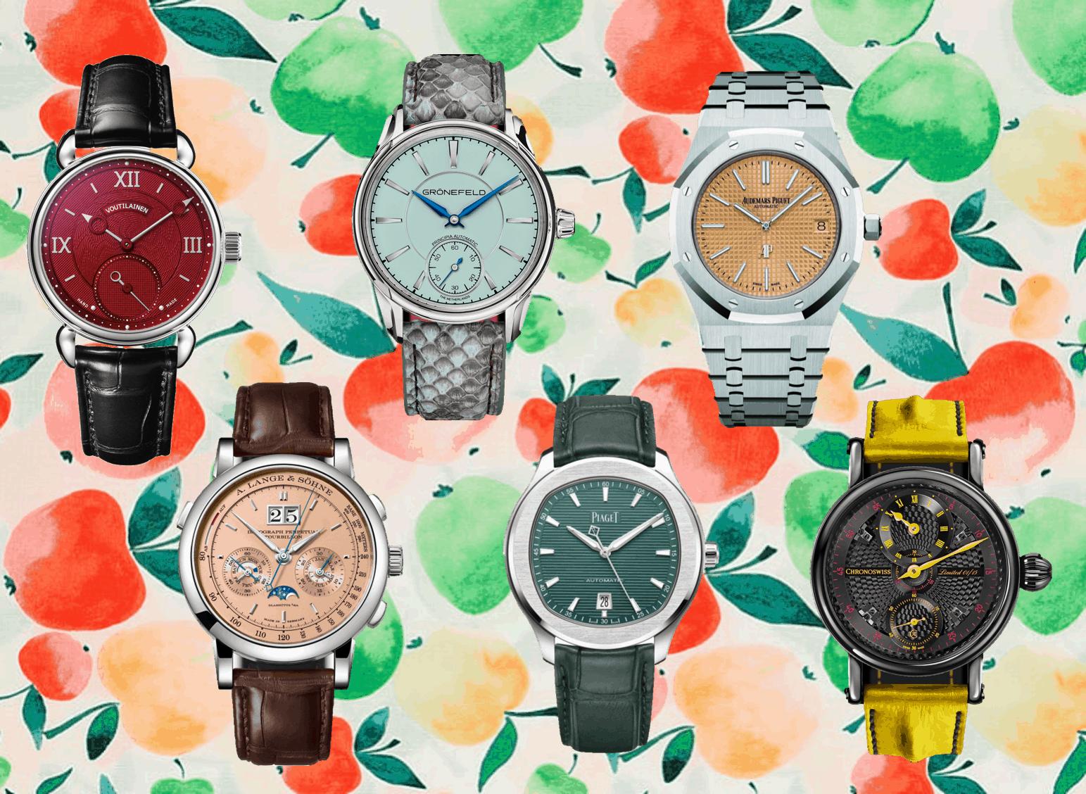 Farbiges Zifferblatt bei LuxusuhrenEdle Uhren und farbiges Zifferblatt: Bekennen Sie Farbe!