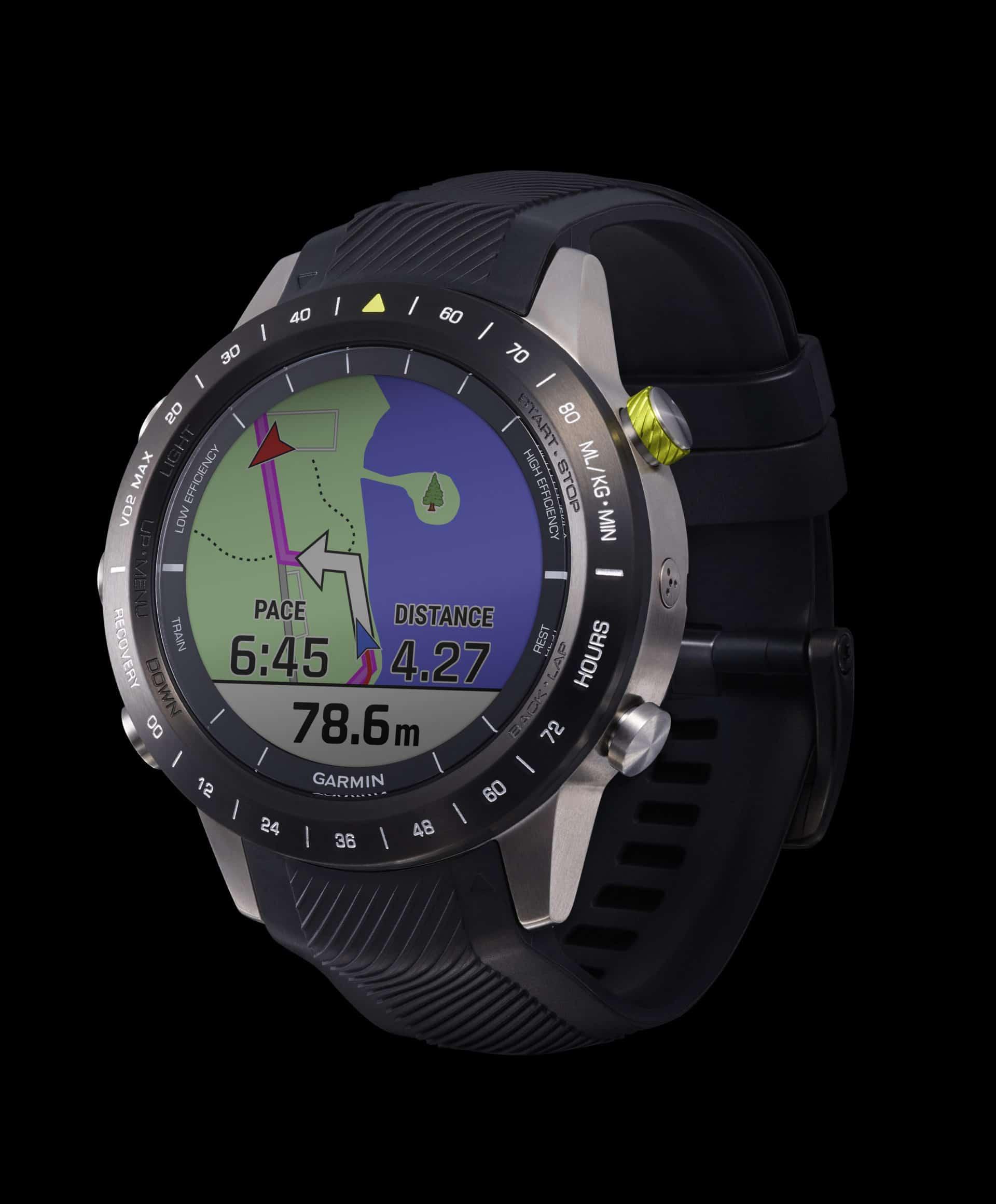 Der Navigationsmodus der Garmin Marc Athlete führt und trackt