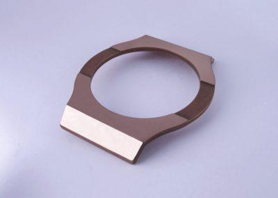 Magic Gold polierte Gehäuseoberfläche einer Hublot-Uhr