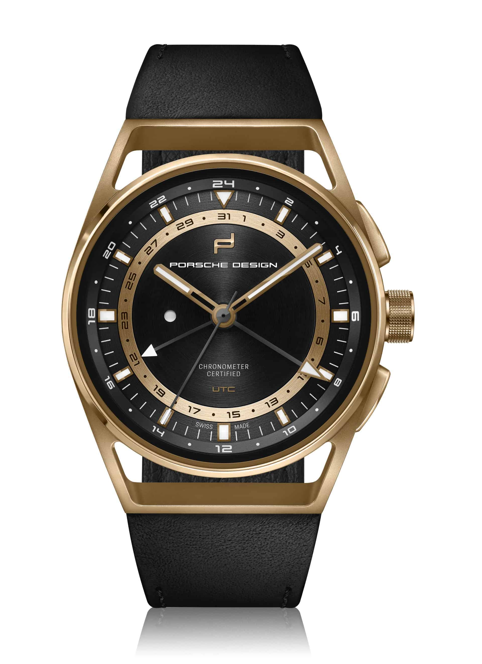 PD_1919 Globetimer UTC Gold Edition_front2D