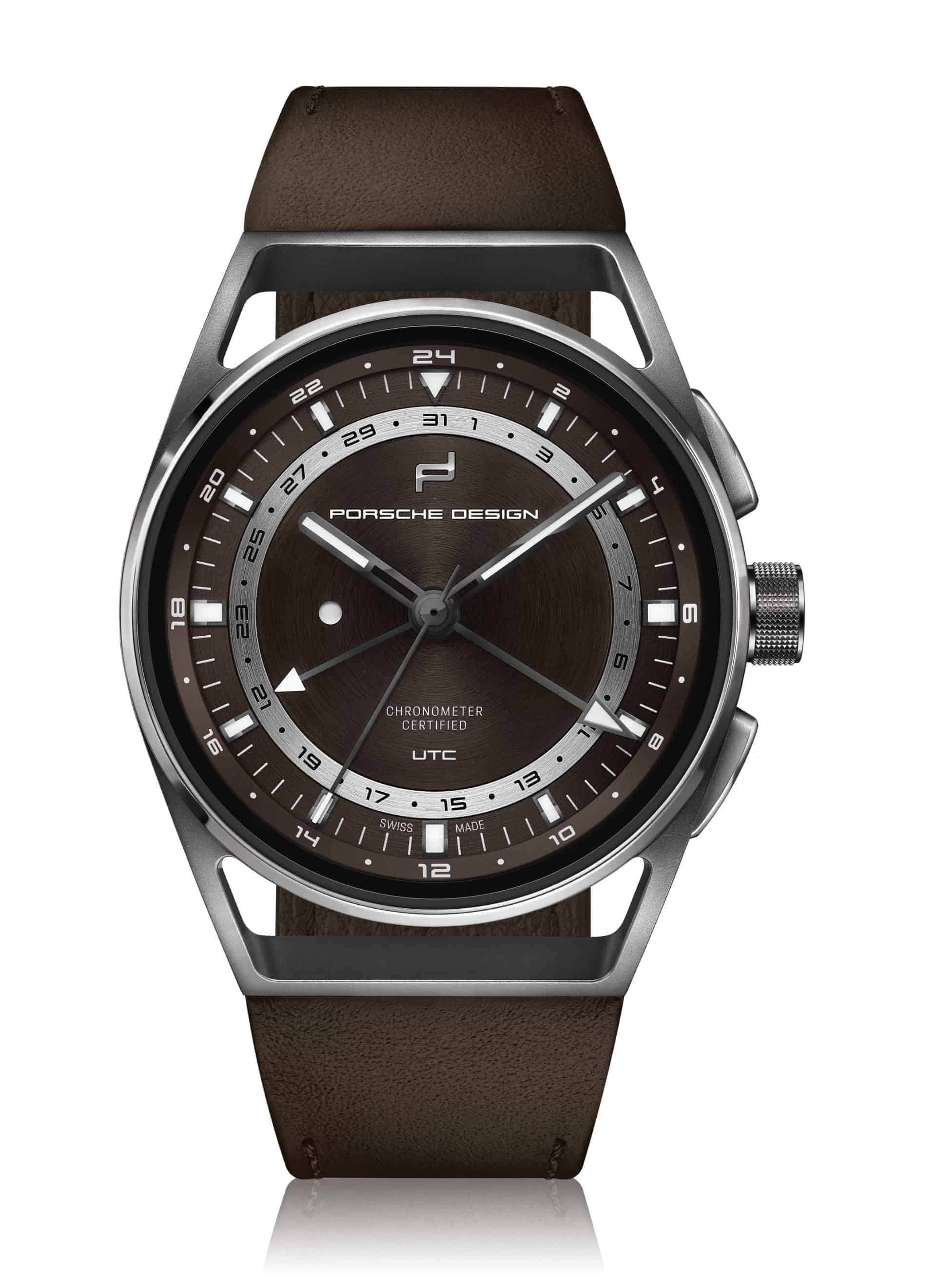 PD_1919 Globetimer UTC Titanium Brown_front2D