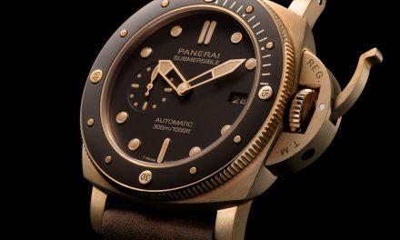 Panerai Luminor Submersible Bronzo – die Bronze Editionen sind begehrt