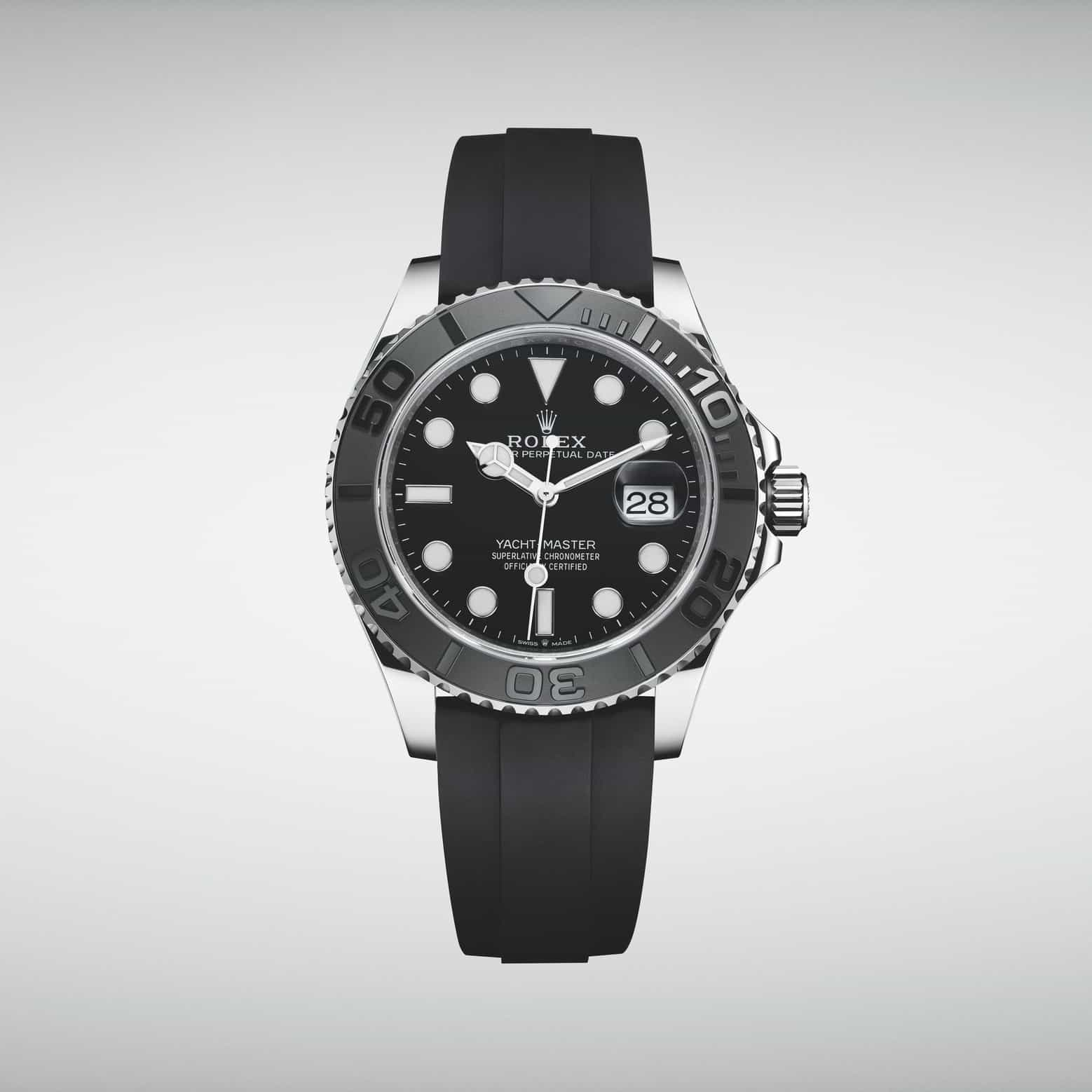 Die Rolex Yacht-Master wird größer und bietet ein innovatives Uhrband