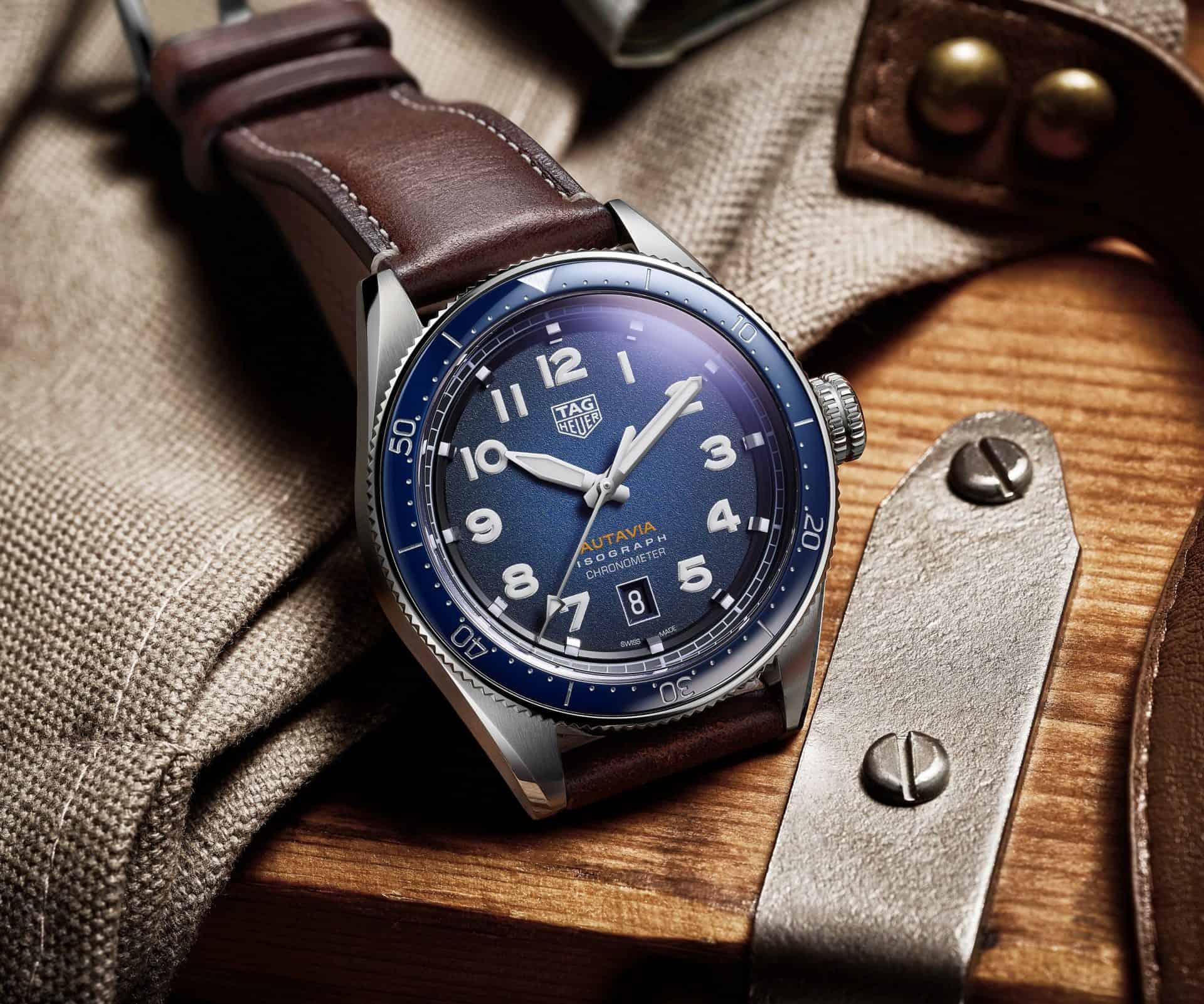 Der neue TAG Heuer Autavia Chronometer - sportlicher Chic, würde man in der Mode sagen