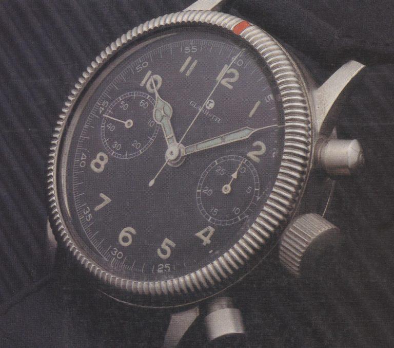 1941 war Tutima auf qualitativ hohem Niveau - zum Beispiel bei Fliegerchronographen
