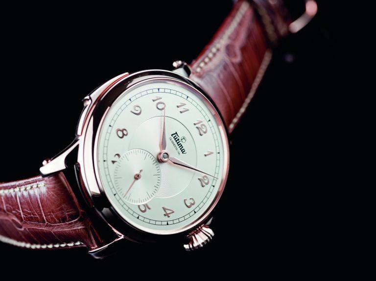 Die Handaufzug Minutenrepetition von Tutima ist aufwendiger, komplexer Uhrenbau