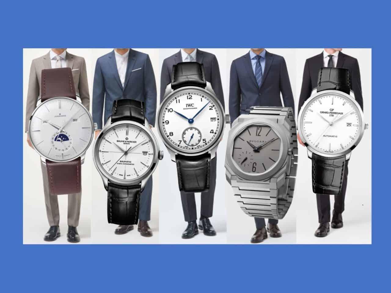 5 elegante Dresswatch-Uhren – das große Video