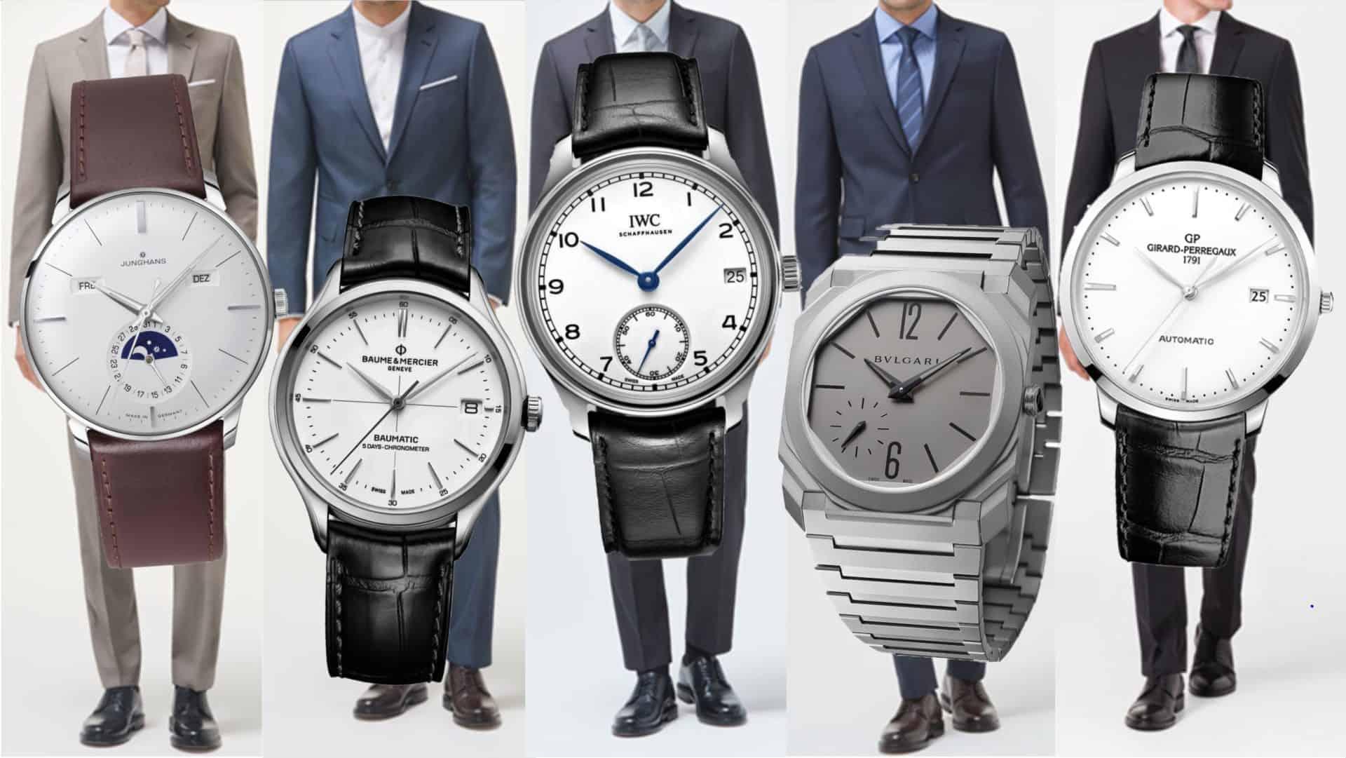 5 Anzug-Uhren für unterschiedliche Budgets