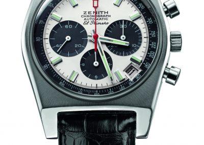 Die erste Zenith El Primero Chronographen-Uhr aus dem Jahr 1969 in Panda-Optik