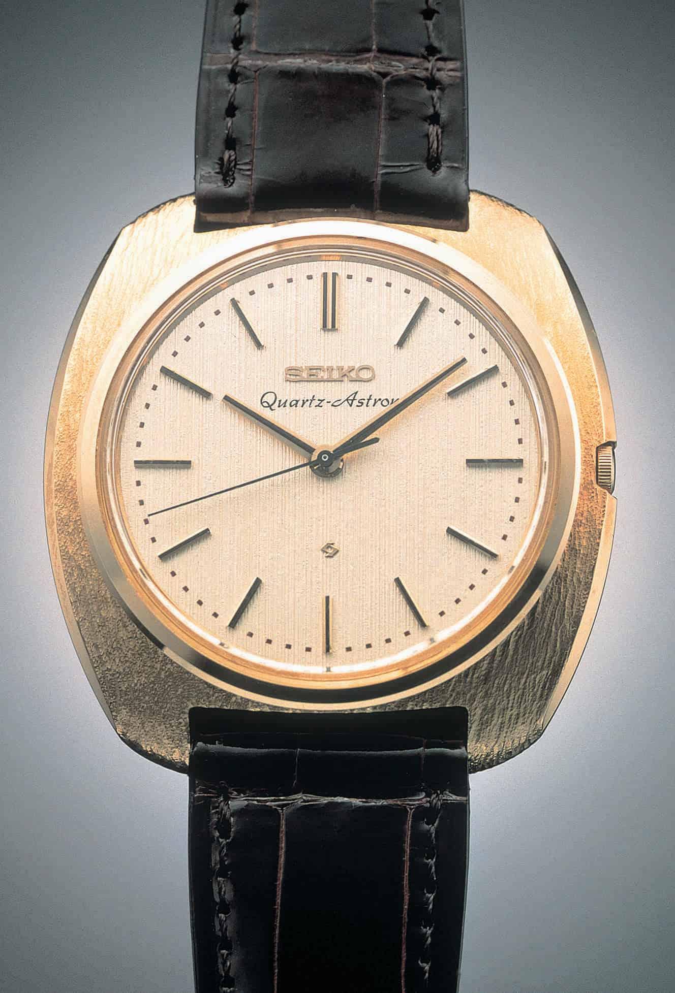Die Seiko Astron war die erste kommerzielle Quarzuhr und eine Revoluion im Uhrenbau
