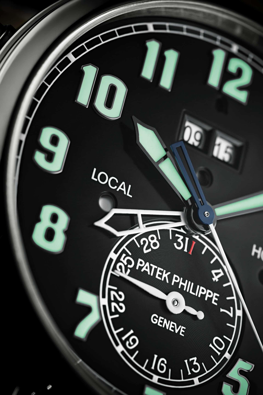 Die wichtigen Funktionen: Zweite Zeitzone, Weckzeit, Tag-Nacht Anzeige sowie das Datum auf der 6