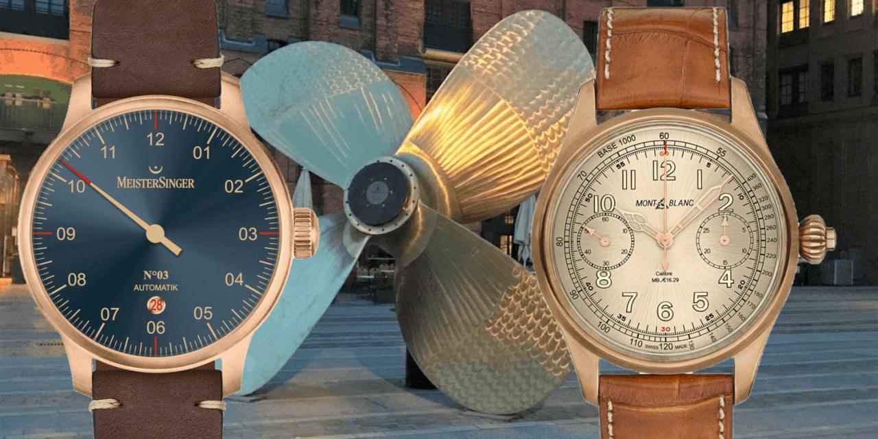 Bronze-Uhren: Ihre Gehäuse bieten Schutz und Schönheit