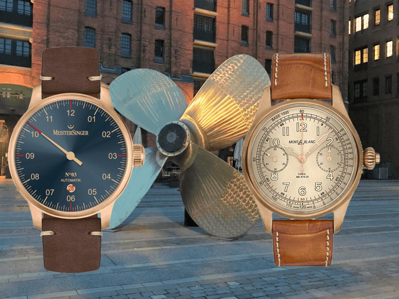Bronze-Uhren und Bronze GehäuseBronze-Uhren: Ihre Gehäuse bieten Schutz und Schönheit