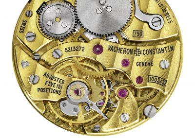 Das flache Uhrwerk 1003 mit Handaufzug von Vacheron Constantin