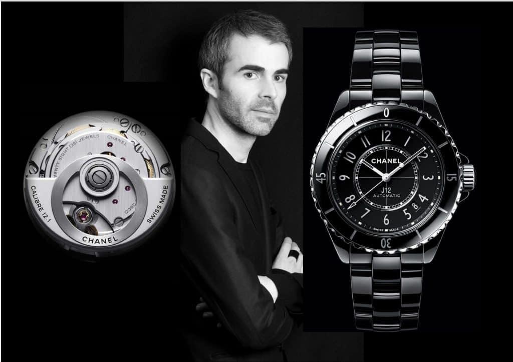 Die neue Chanel J12 ist das Werk des Chanel Uhren-Designchefs Arnaud Chastaingt