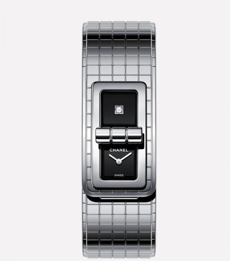 Die Chanel Code Coco ist ein gelungener Entwurf und ein Mix aus modernem Schmuckstück und Uhr