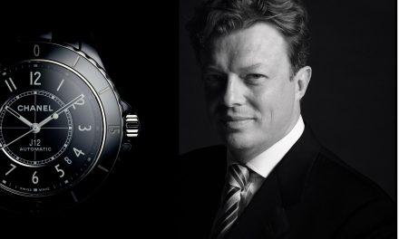 Nicolas Beau, Global Head Watches Chanel, bringt die Mode zur Uhrmacherei