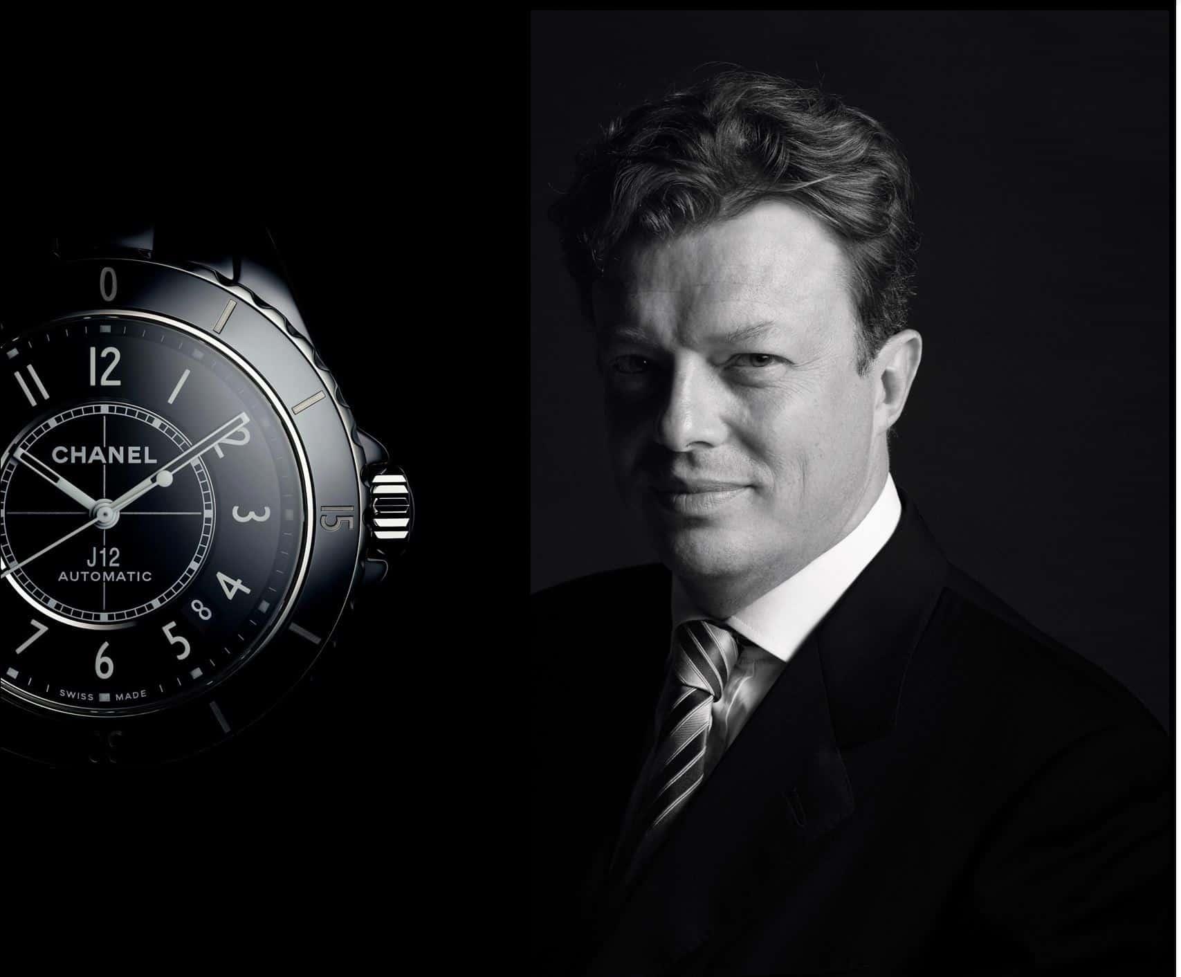 Nicolas Beau leitet das Uhrenbusiness von Chanel und steht auch für die neue Chanel J12 Automatik Weiterentwicklung