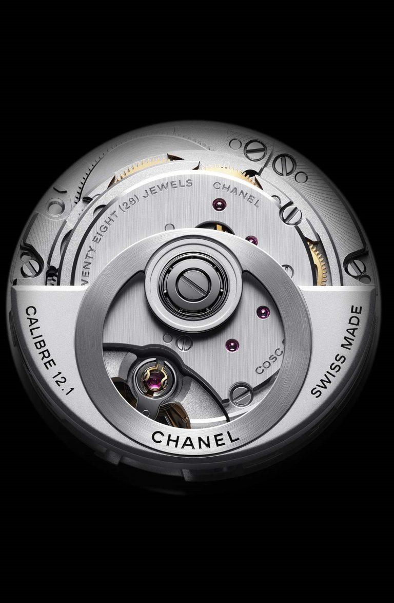 Hochwertiger Kaliberbau: Das Kenissi Werk 12.1 mit interessantem Chanel-Rotor