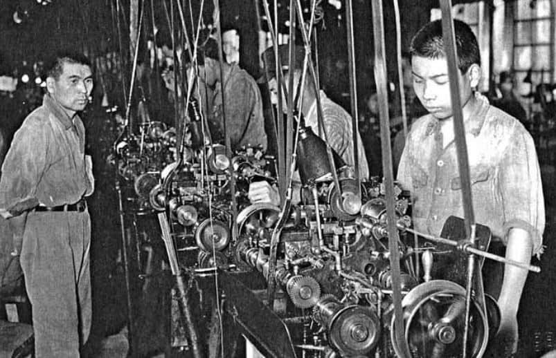 Daini_Seikosha_1949_Produktion