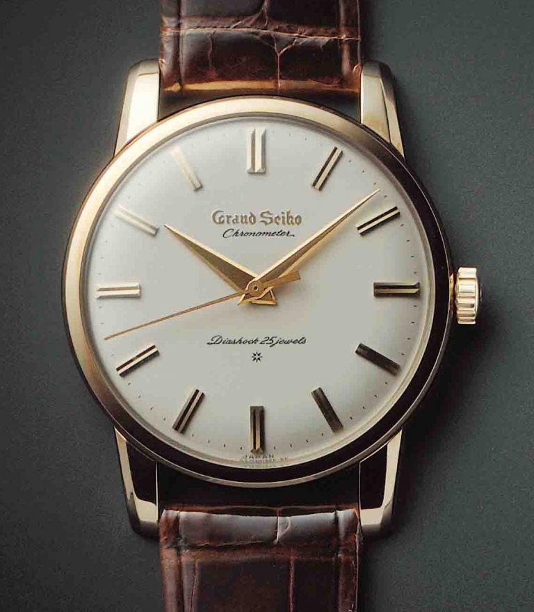 Präzise, elegant wie robust - die erste Grand Seiko von 1960