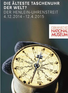 Das Prospekt des germanischen National Museums geht auf die Diskussion um das Nürnberger Ei ein