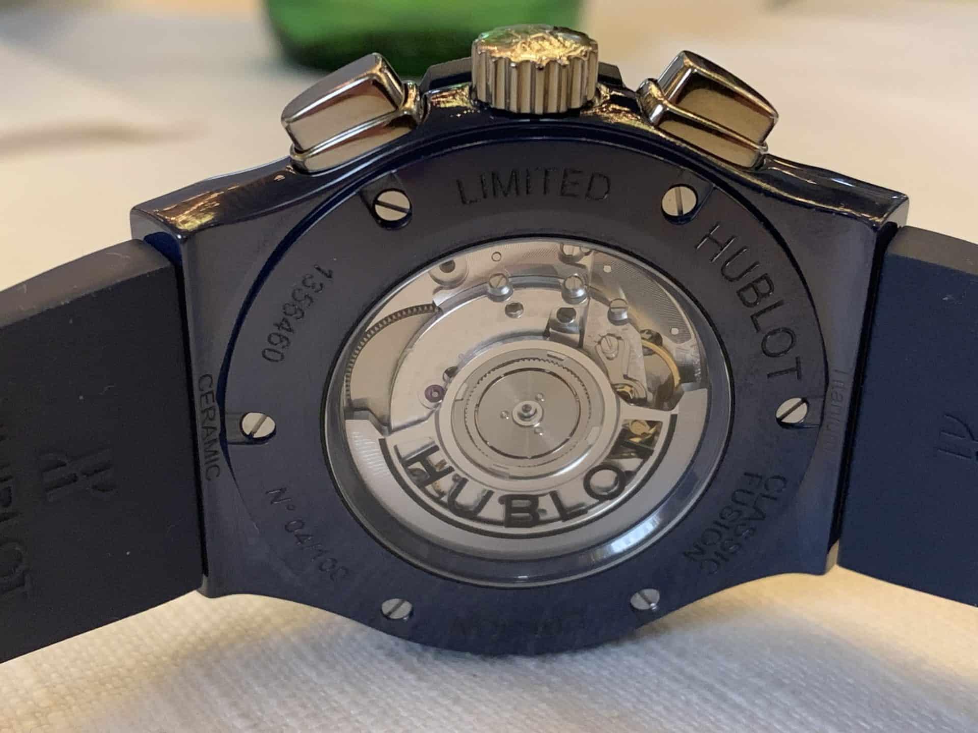 Hublot Classic Fusion Chronograph Garage Italia_06a