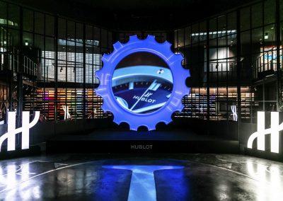 Die illuminierte Partnerschaft zwischen Hublot und Garage Italia