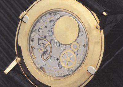 Das Kaliber 1200 von Lassale war zwar sehr flach, hatte aber doch Schwierigkeiten mit der Zuverlässigkeit