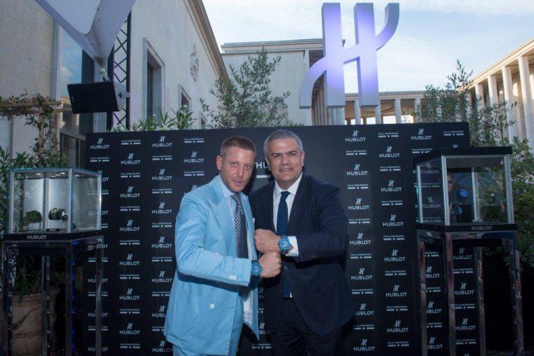 Lapo Elkann und Ricardo Guadalupe zeigen ihre Partnerschaft und die daraus hervorgegangen Uhr