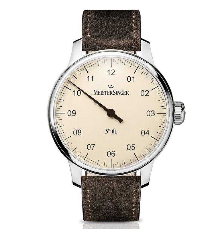 MeisterSinger Bronze-Uhr