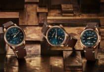 3 MeisterSinger Bronze-Uhren: MeisterSinger Nr. 03, MeisterSinger Metris und MeisterSinger Perigraph