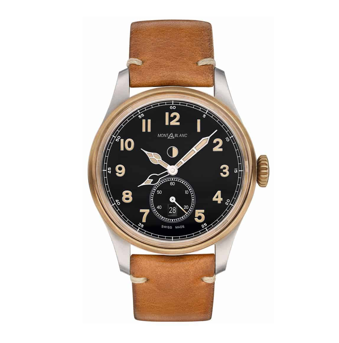 Montblanc 1858 Automatic Dual Time Bronze