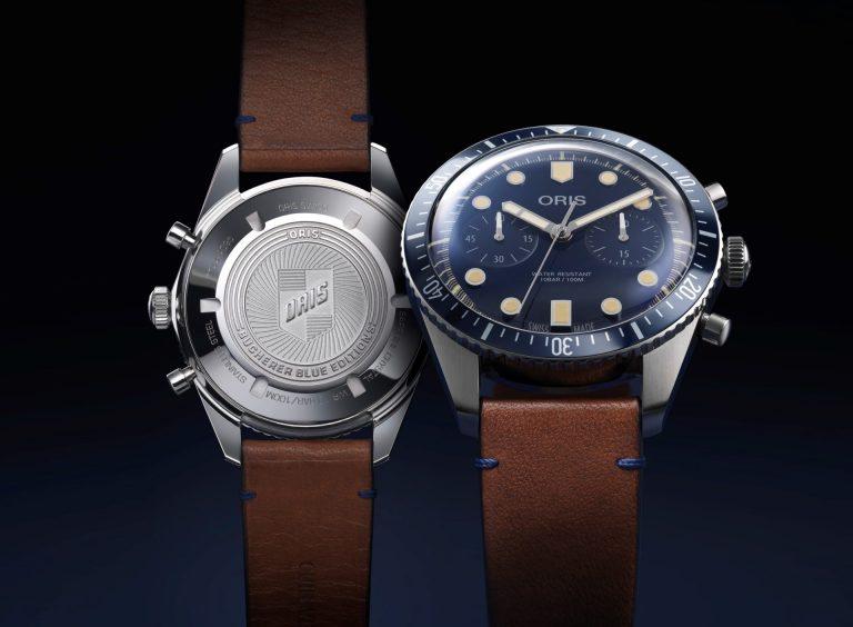 Oris Divers Sixty-Five Bucherer Blue Edition