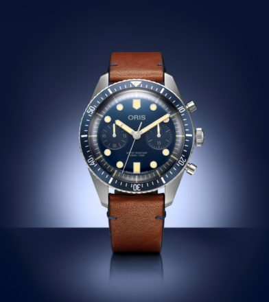 Oris Divers Sixty-Five Bucherer Blue Edition ist so blau wie retro!