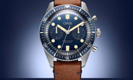 Oris Divers Sixty-Five Bucherer Blue Edition ist so blau wie retro!