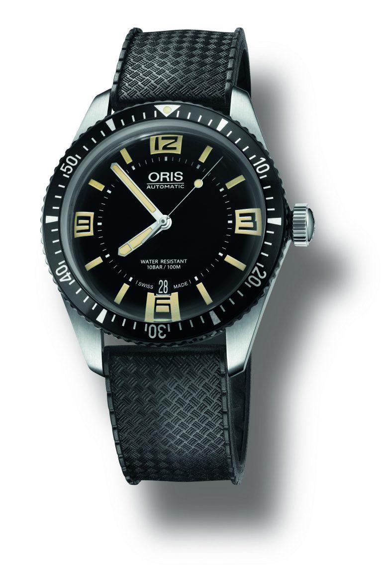Im Jahr 1965 lanciert: Die Oris Taucheruhr, die Vorbild der neuen Diver Sixty-Five ist