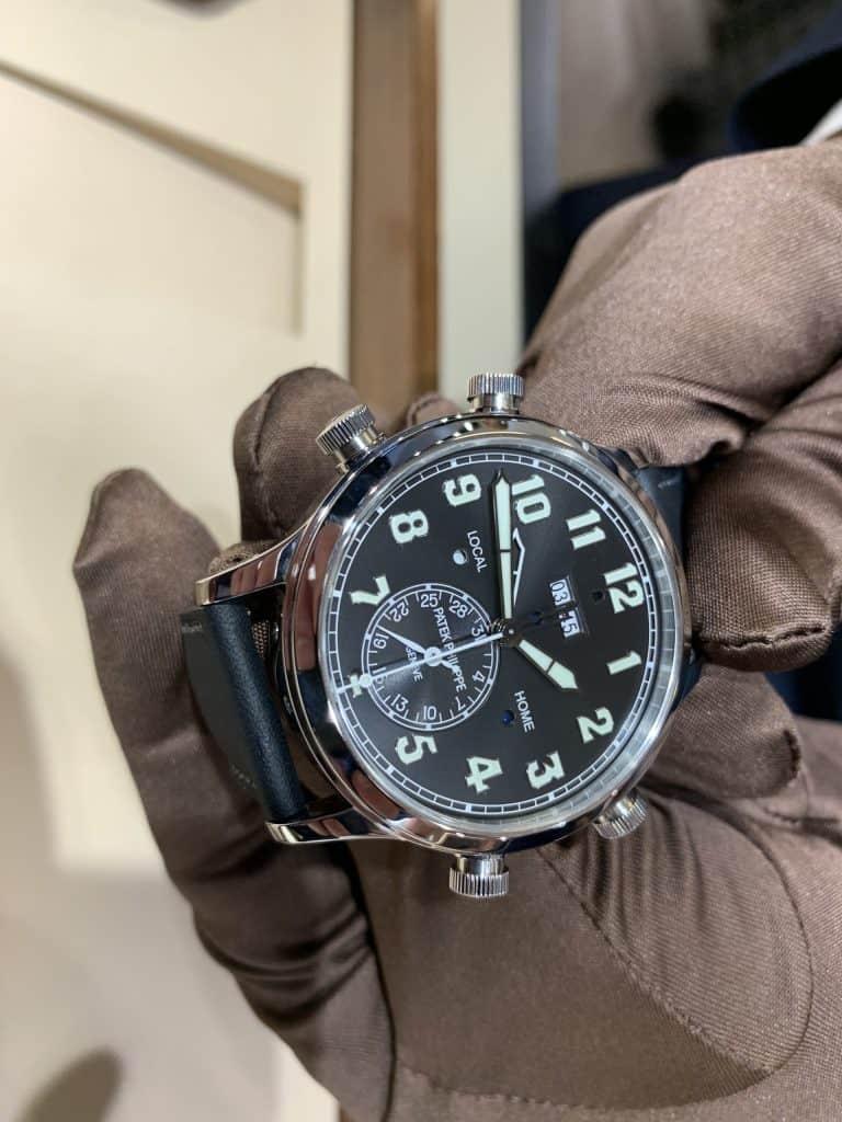 Diese Uhr ist Luxus pur.