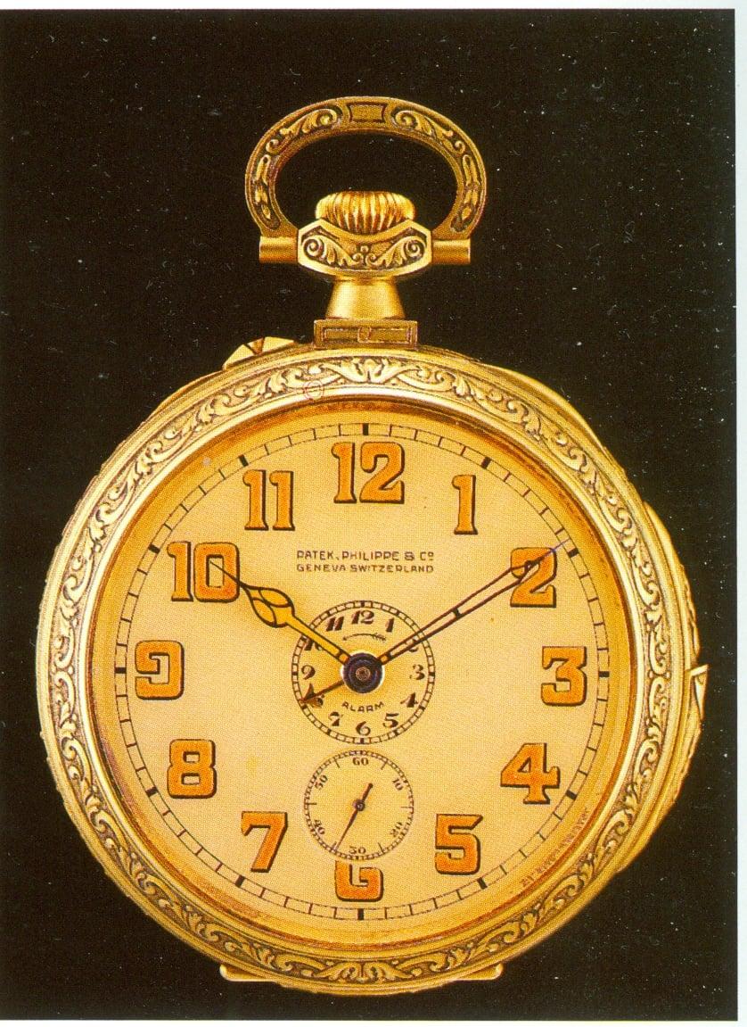 Die goldene Patek Philippe Taschenuhr von 1927, die den Uhrensammler James Ward Packard an seine Mutter erinnerte