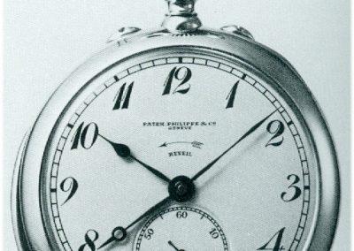 Der historische Wecker von Patek Philippe aus dem Jahre 1907 Ref. 113018