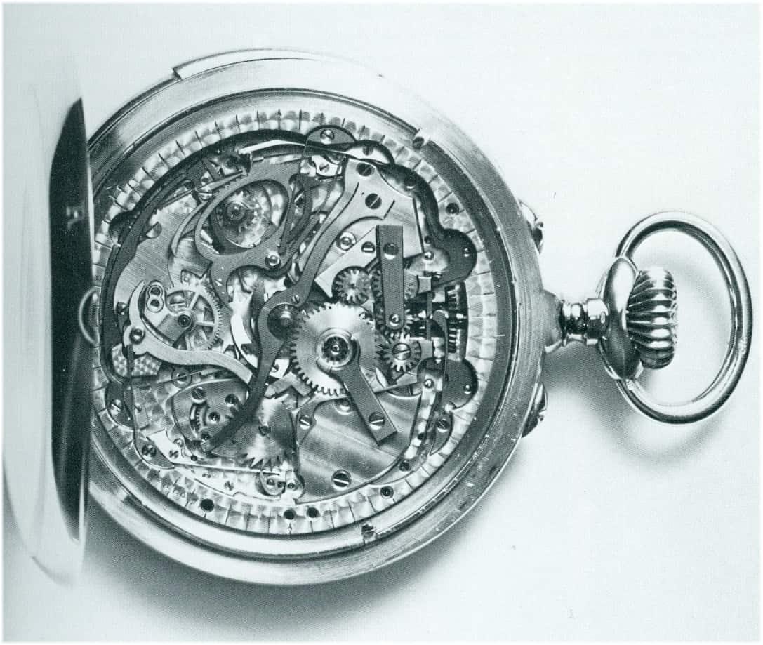 Patek Philippe Taschenuhr mit Wecker Nr 113018 von 1907
