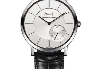 Die schlichte Piaget 1208P war ebenfalls flach